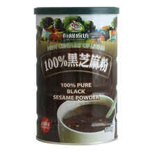 台湾有机厨房100%黑芝麻粉500g
