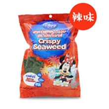 泰国迪士尼米奇系列香脆调味海苔(辣味)25g