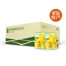 中粮悠采鲜榨玉米汁115ml(泰国进口)*36