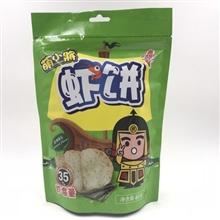 台湾萌小将紫菜味虾肉饼(膨化食品)40g