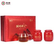 中茶传世湖红红茶瓷罐150g