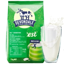 澳洲德运脱脂奶粉1kg