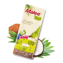泰国malee玛丽椰子水饮180ml*3瓶
