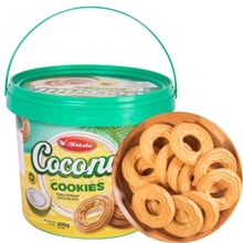 印尼可可乐椰味曲奇饼干400G