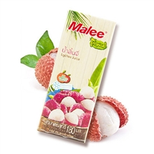 泰国malee玛丽荔枝果汁饮料180ml*3瓶