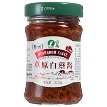 山萃草原白磨酱210g(辣味)