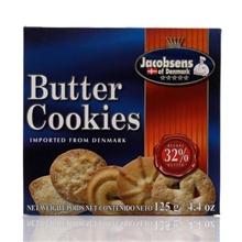 丹麦jacobsens杰克布森黄油曲奇饼干125g