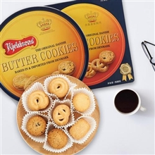 丹麦蓝罐曲奇饼干礼盒908g