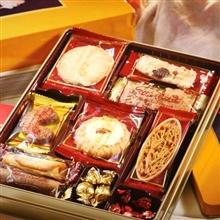 日本 红帽子黄色什锦饼干礼盒136.5g